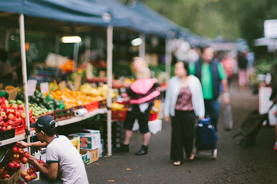 Davies Park West End Markets
