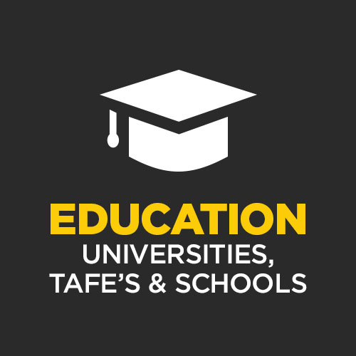 3 Major University Campuses (UQ, QUT, Griffith) , 1 TAFE Campus, 5 Public & Private Schools within a 2km radius of West End.